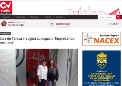 Dora de Teresa inaugura su espacio 'Empresarios con alma',